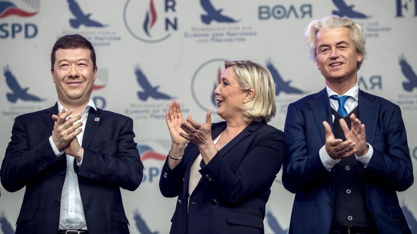 European elections campaign in Czech Republic, Prague - 25 Apr 2019