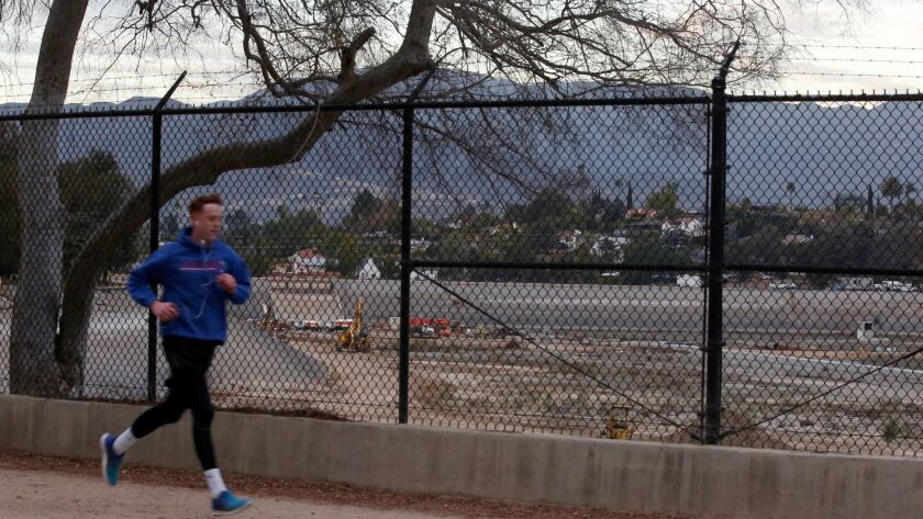 Since it was drained, the reservoir area has been criticized as an eyesore in Los Angeles.