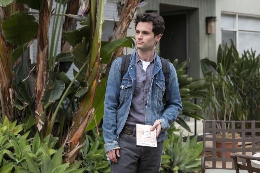 "Penn Badgley's romantic obsessive Joe Goldberg comes to Los Angeles in Season 2 of ""You"" on Netflix."