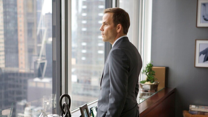 """Stephen Dorff portrays a hedge fund banker in """"The Debt."""""""