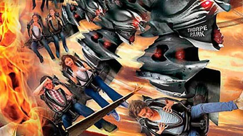 The Swarm winged coaster debuts in 2012 at Thorpe Park.