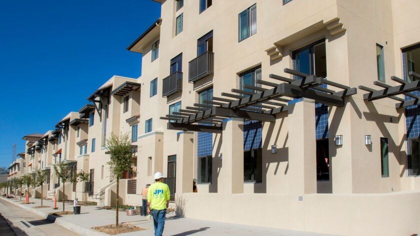 The first phase of 201 affordable housing units known as the Paradise Creek Affordable Housing proje