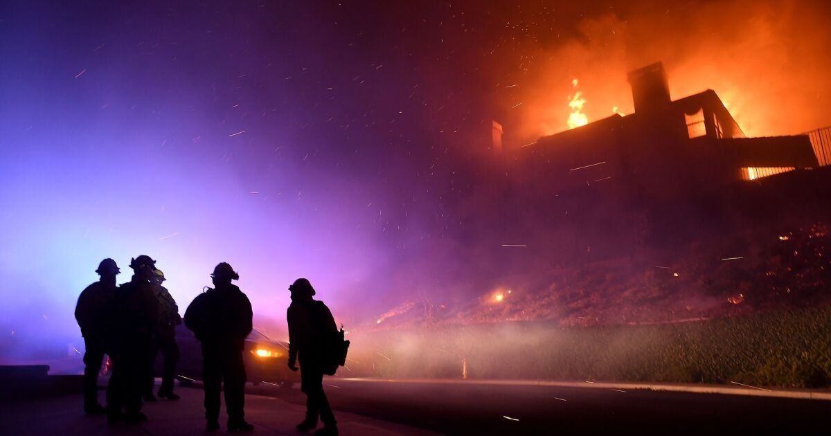 Firefighters distracted by politician requests during Woolsey fire