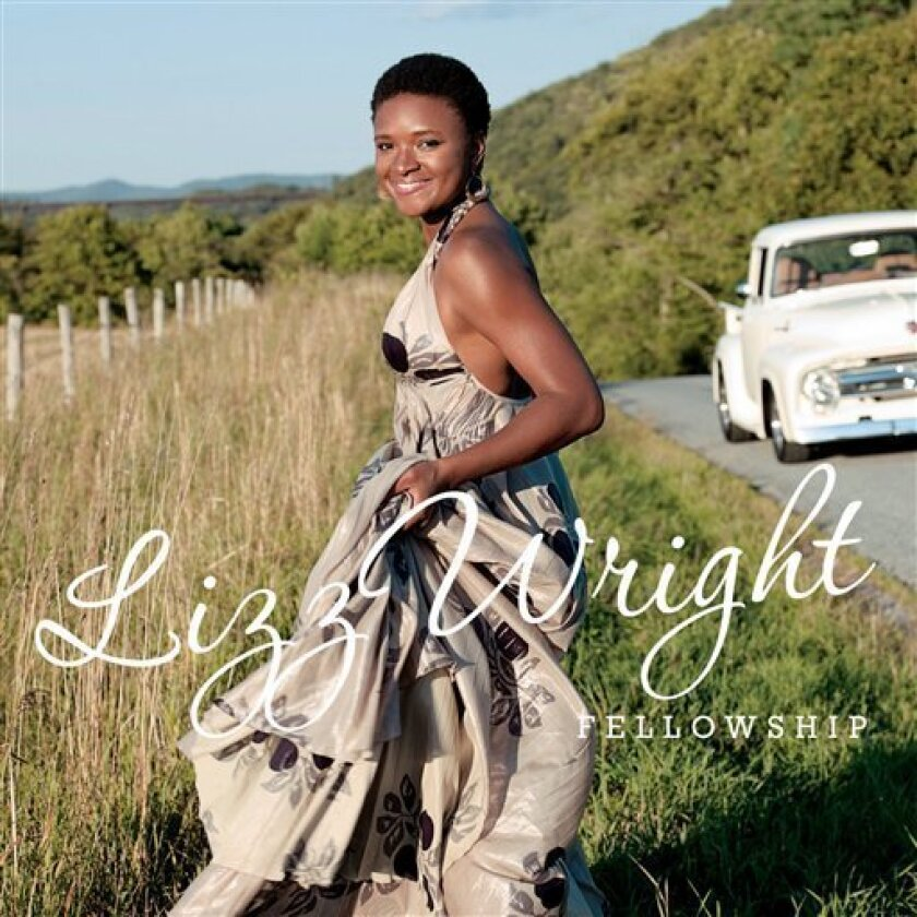 """In this CD cover image released by Verve Records, the latest by Lizz Wright, """"Fellowship,"""" is shown. (AP Photo/Verve)"""