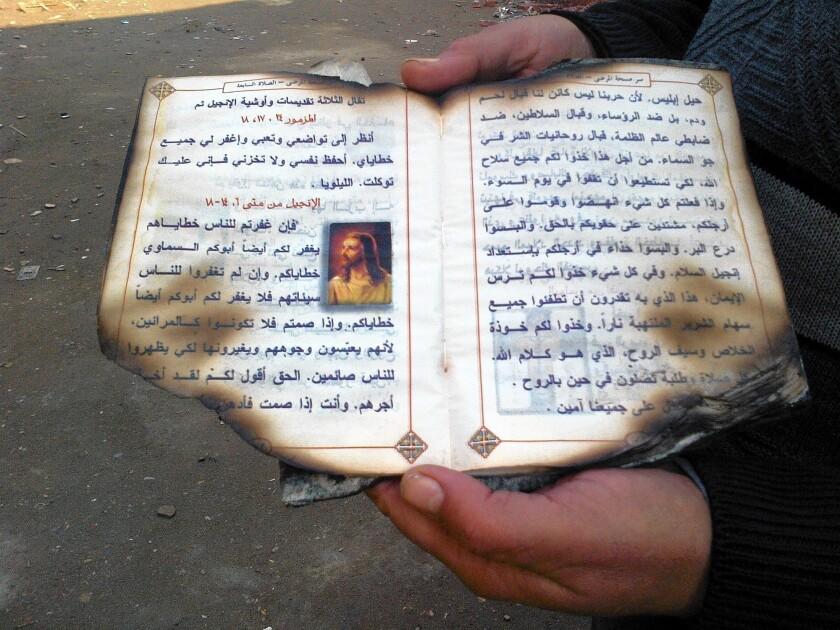 Egypt's Coptic Christians feel vulnerable amid nation's upheaval