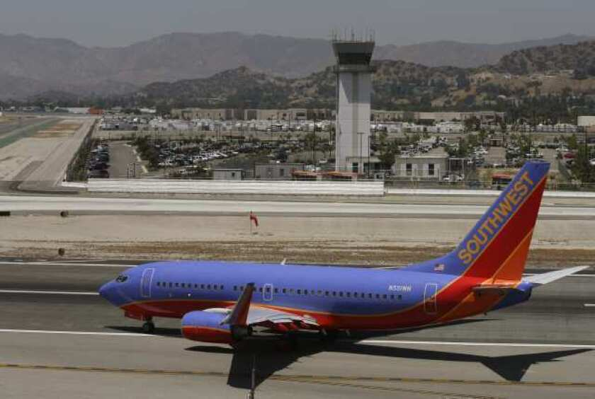 20-year forecast: Traffic at Bob Hope Airport to remain 'relatively flat'