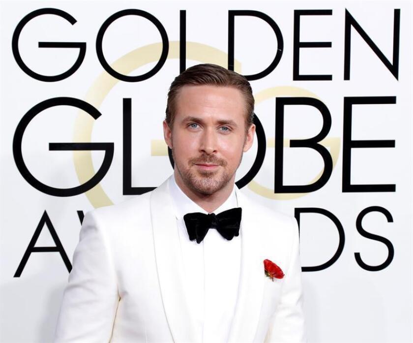Ryan Gosling llega para la 74 ceremonia anual de los Globos de Oro en el Hotel Beverly Hilton en Beverly Hills, California, (EE.UU) el 08 de enero de 2017. EFE