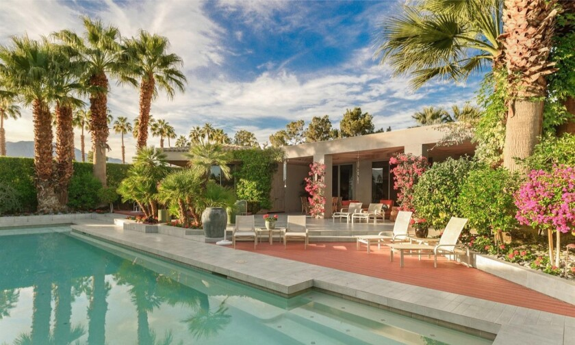 Sheldon Good's Rancho Mirage estate