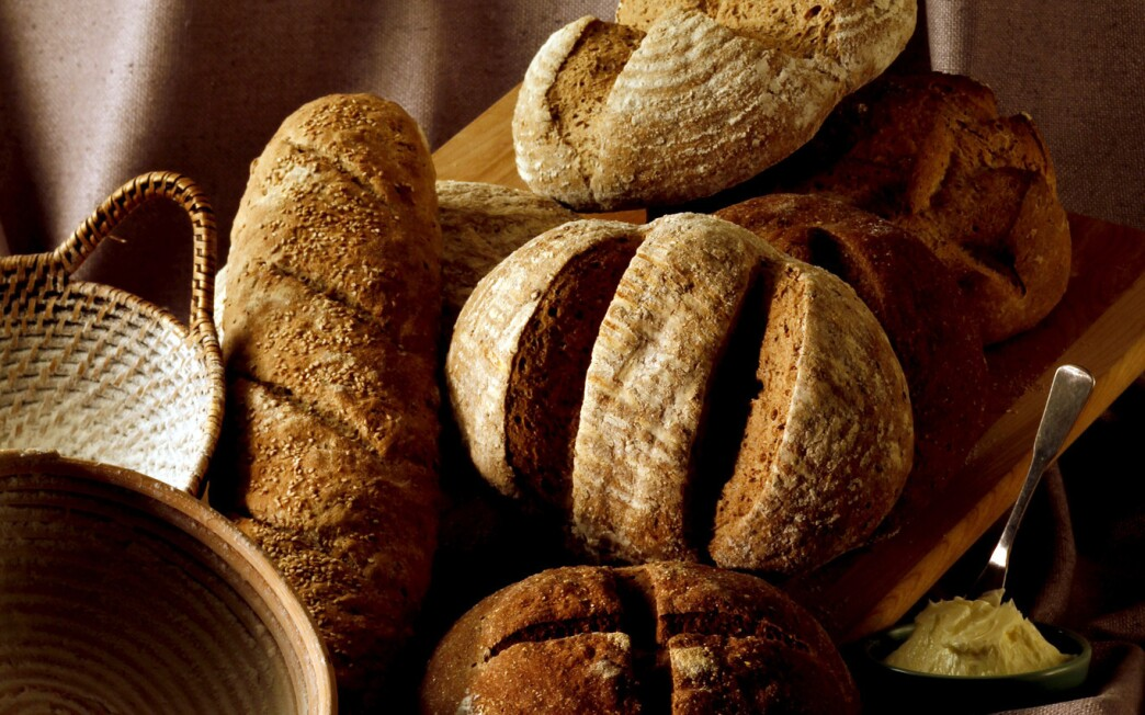 German-style many-seed bread