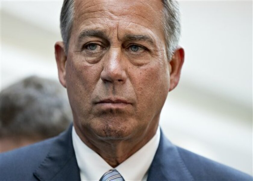 House Speaker John Boehner (R-Ohio) says immigration reform is not dead, but he won't say when the House might take up the issue.