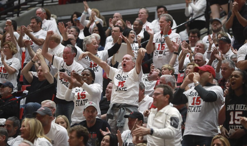 Men's basketball ticket prices for Viejas Arena have gone up for the 2020-21 season.