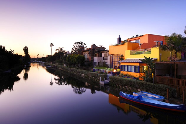 The most colorful house on L.A.'s Venice canals