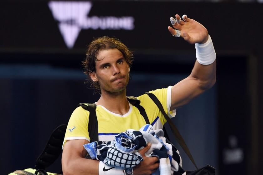 Rafael Nadal suffers 'painful' loss in Australian Open