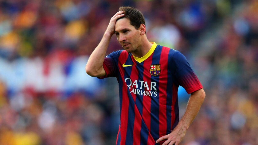 Winless Barcelona is hoping that star Lionel Messi returns to the lineup this weekend.