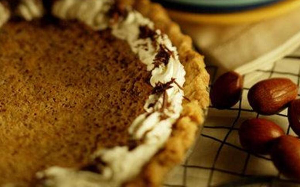 Bourbon chocolate pie