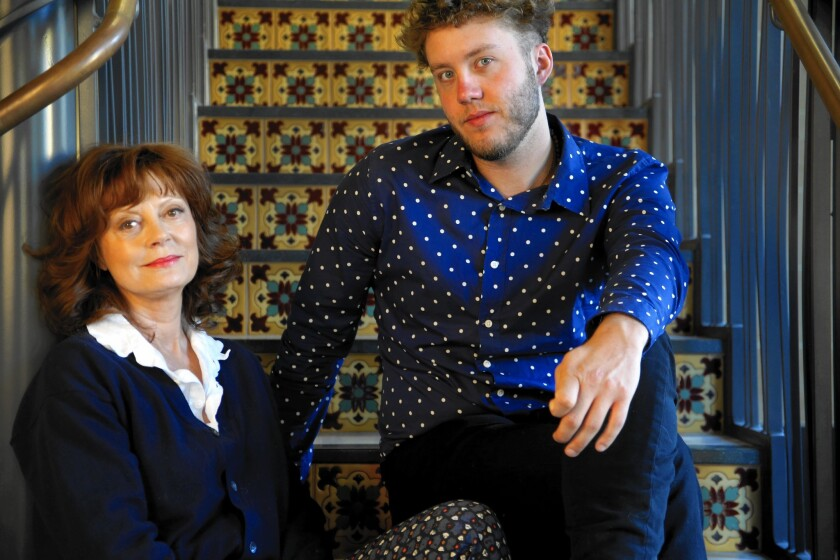 """Susan Sarandon and her son Jack Henry Robbins have produced and directed a series of documentaries on the homeless titled """"Storied Streets."""""""