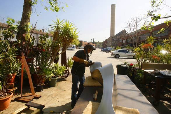 Orphan plants get new life at L.A. artists colony