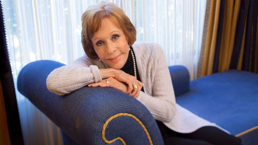 """Carol Burnett, shown in January 2016, will be celebrating the 50th anniversary of """"The Carol Burnett Show"""" in a CBS special airing Dec. 3."""