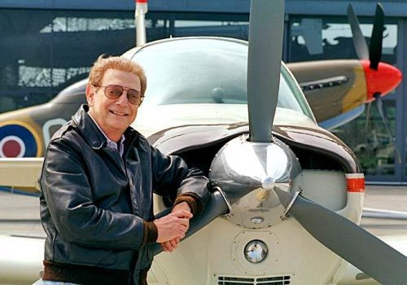 Hal Fishman, a pilot in addition to a newsman, set several records for speed and altitude.
