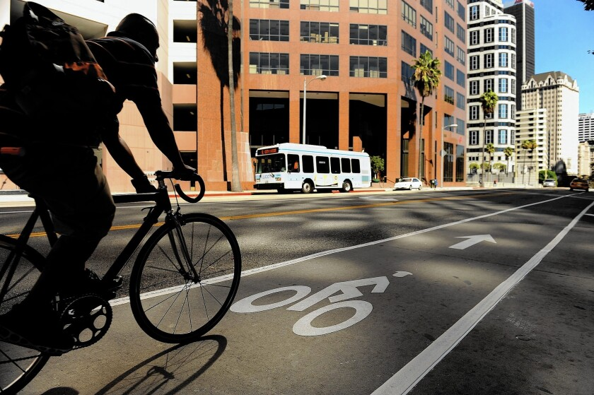 Bike lanes are a factor in deciding which neighborhoods would work well for bike-sharing.
