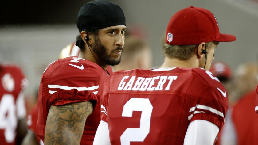 Colin Kaepernick and Blaine Gabbert