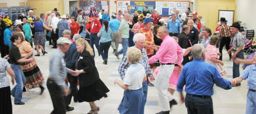 The Wranglers Square Dance Club.
