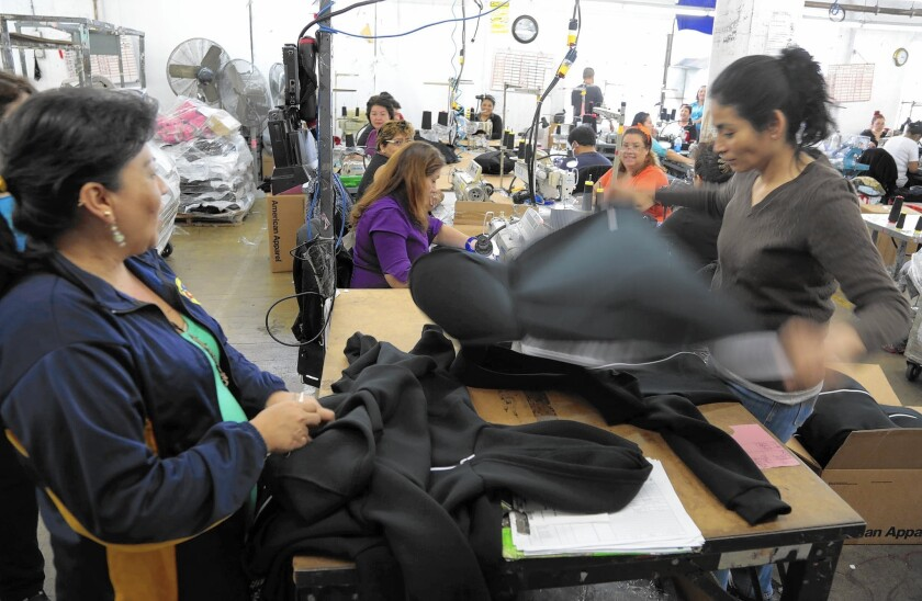 One core feature of American Apparel — its made-in-USA model — will remain firmly in place. American Apparel's main factory in L.A. employs more than 3,000 cutters, sewers and other workers.
