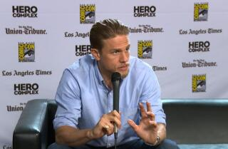 Charlie Hunnam on the hyper-stylized antics of 'King Arthur: Legend of the Sword'