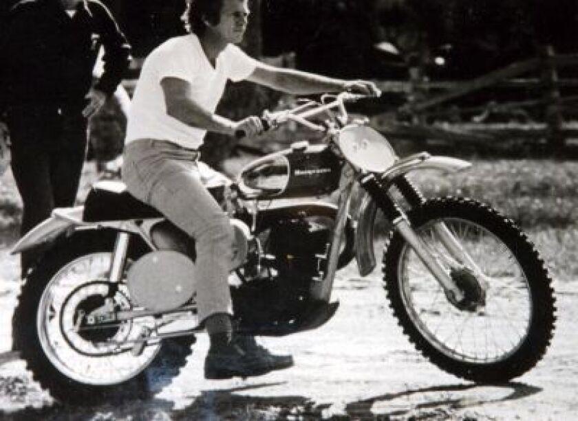 Steve Mcqueen Dirt Bike On The Ebay Block Los Angeles Times