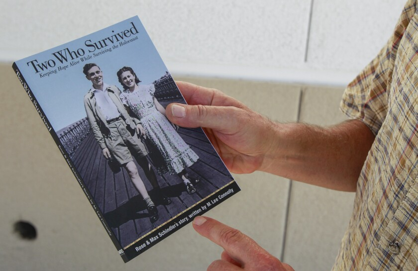 """This is the book about Rose Schindler, called """"Two Who Survive,"""" was published by the Schindlers' son, Ben."""