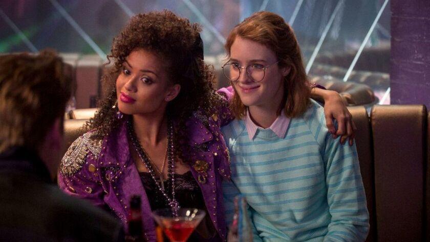 "Mackenzie Davis as Yorkie and Gugu Mbatha-Raw as Kelly in the Netflix series ""Black Mirror."" Credit:"