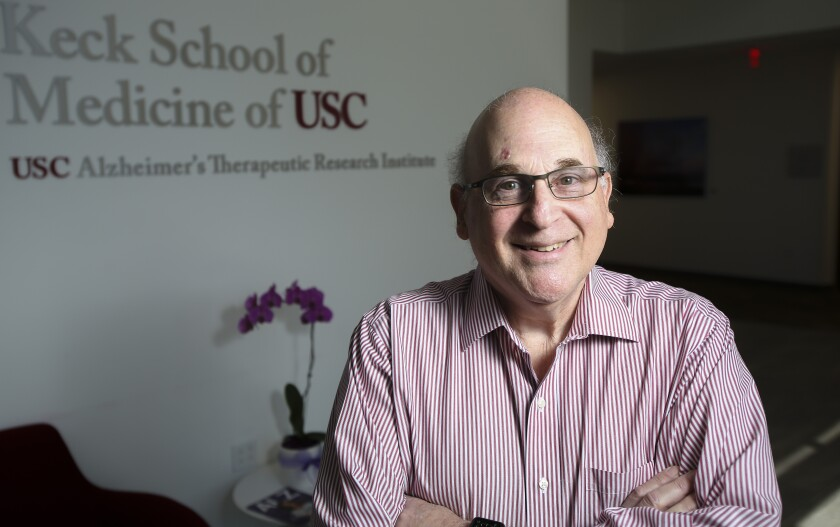 Dr. Paul Aisen, director of the USC Alzheimer's Therapeutic Research Institute.
