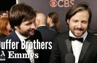 Emmys 2017: Duffer Brothers Full Interview