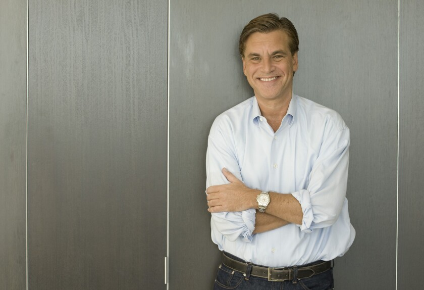 """Aaron Sorkin, pictured in 2010, will adapt """"To Kill a Mockingbird"""" for Broadway."""
