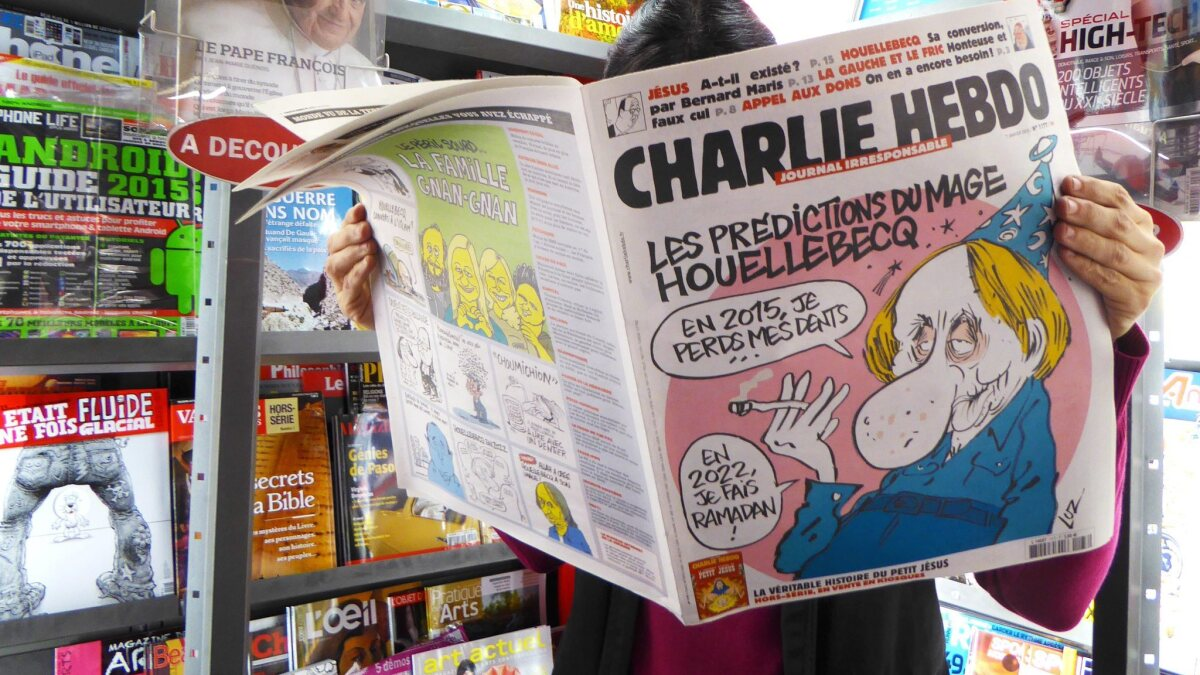 French Satire Magazine S Raison D Etre Mocking Challenging Los Angeles Times