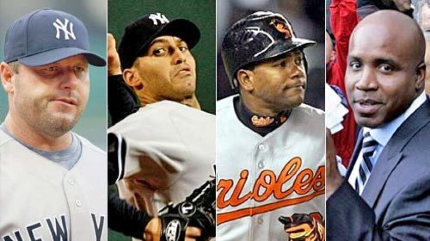 Roger Clemens, Andy Pettitte, Miguel Tejada and Barry Bonds were named in the 409-page report.