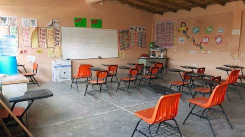 Las escuelas de Chilapa y municipios vecinos en Guerrero están vacías por amenazas del narco.
