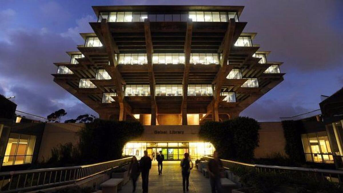 Surveys ranked UCSD, SDSU among best universities - The San Diego