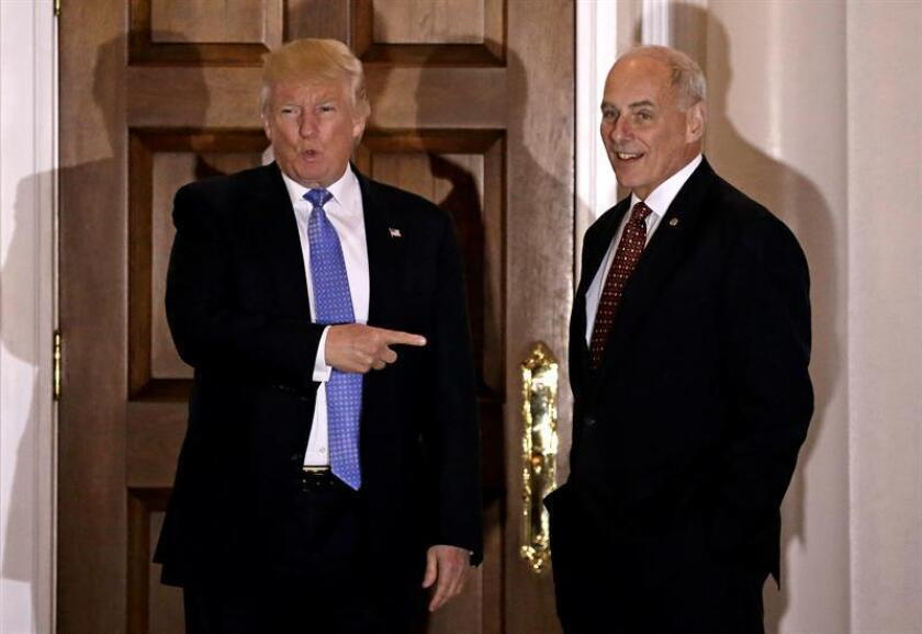El presidente electo de Estados Unidos, Donald Trump, se ha rodeado de generales y empresarios para formar un gabinete que ya ha despertado polémicas en el país, que tiene una tradición de gobiernos de corte mayoritariamente civil. EFE/ARCHIVO