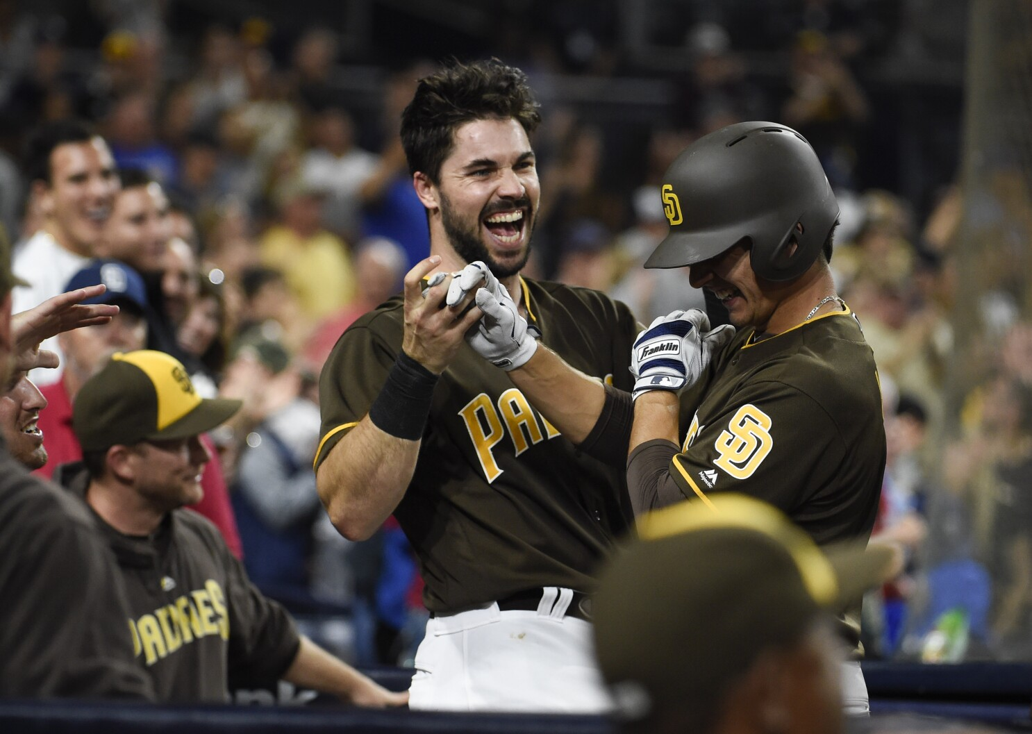 Column: Padres' results, not uniforms, will matter most in 2020