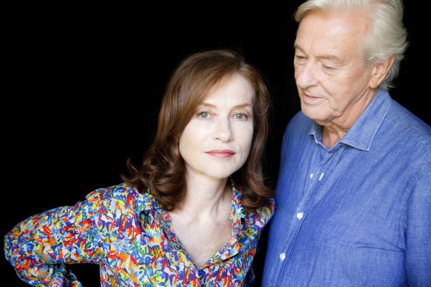 "Isabelle Huppert and ""Elle"" director Paul Verhoeven"