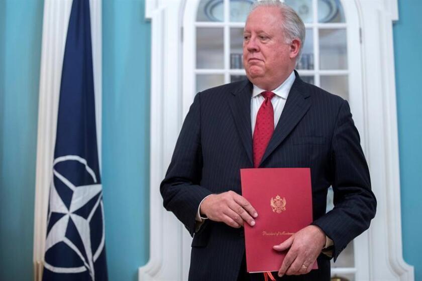 El subsecretario del Departamento de Estado de EEUU, Thomas Shannon. EFE/Archivo