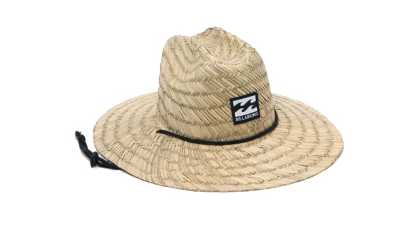 Billabong Achieve maximum face protection with Billabong?s one-size-fits-all seagrass lifeguard hat,