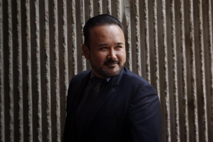 El tenor mexicano Javier Camarena posa hoy, martes 4 de septiembre de 2018, durante una conferencia de prensa en Ciudad de México (México). EFE