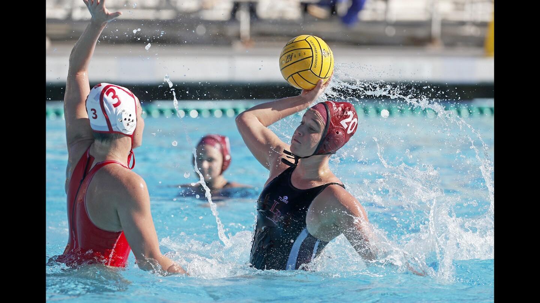 Photo Gallery: Laguna Beach vs. Orange Lutheran in girls' water polo