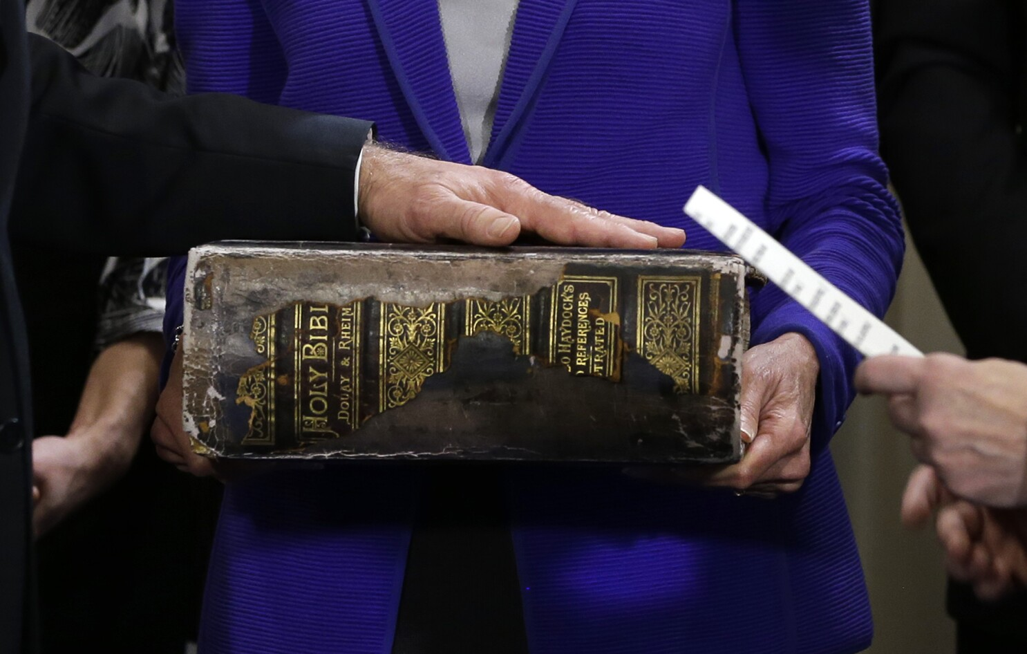 Inauguration Day: Biden to take oath on his family Bible - Los Angeles Times