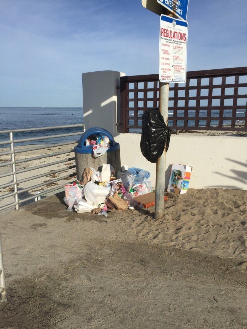Barber Tract residents are urging the city to increase trash pickup and install more cans along the shorelines.