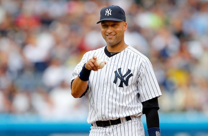Derek Jeter was elected to the Hall of Fame.