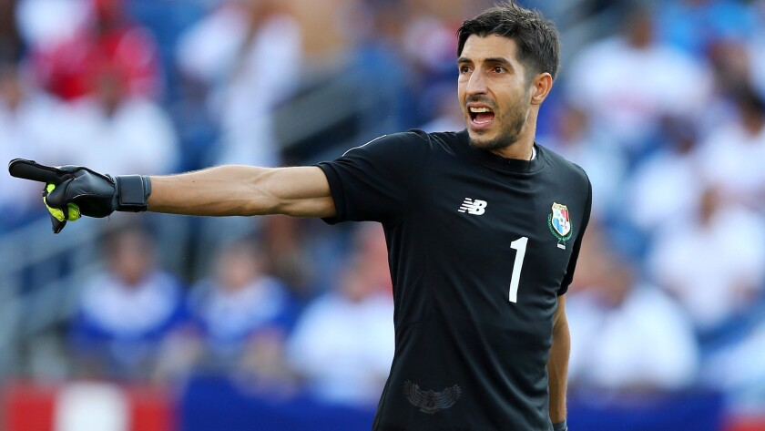 Former Galaxy goalkeeper Jaime Penedo will try to help Panama get a group-play win against Bolivia on Monday.