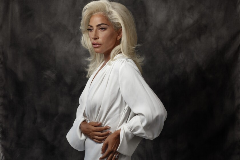 """Lady Gaga, photographed in Malibu ahead of the premiere at the Venice Film Festival of her film """"A Star Is Born."""""""